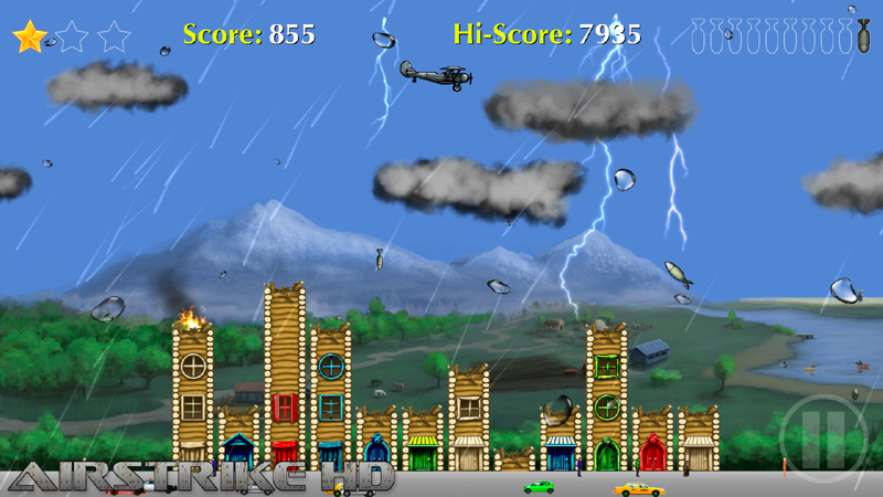 Screenshot of Airstrike HD